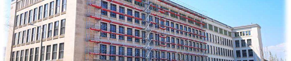 Der erste Abschnitt der Universellen Werke Dresden ist saniert und als Technologiezentrum nutzbar. Foto: Heiko Weckbrodt