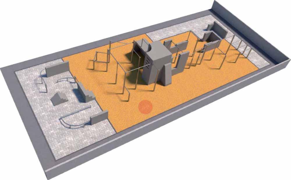 So ähnlich könnte die Parkouranlage aussehen, die an der Haenel-Clauß-Straße in Dresden-Striesen entstehen soll. Visualisierung: LHDSo ähnlich könnte die Parkouranlage aussehen, die an der Haenel-Clauß-Straße in Dresden-Striesen entstehen soll. Visualisierung: LHD