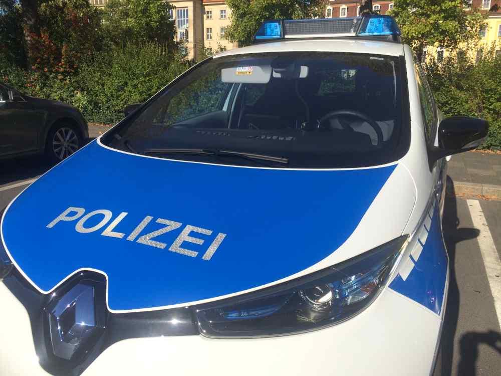 Ein Polizeiauto. Foto: Heiko Weckbrodt