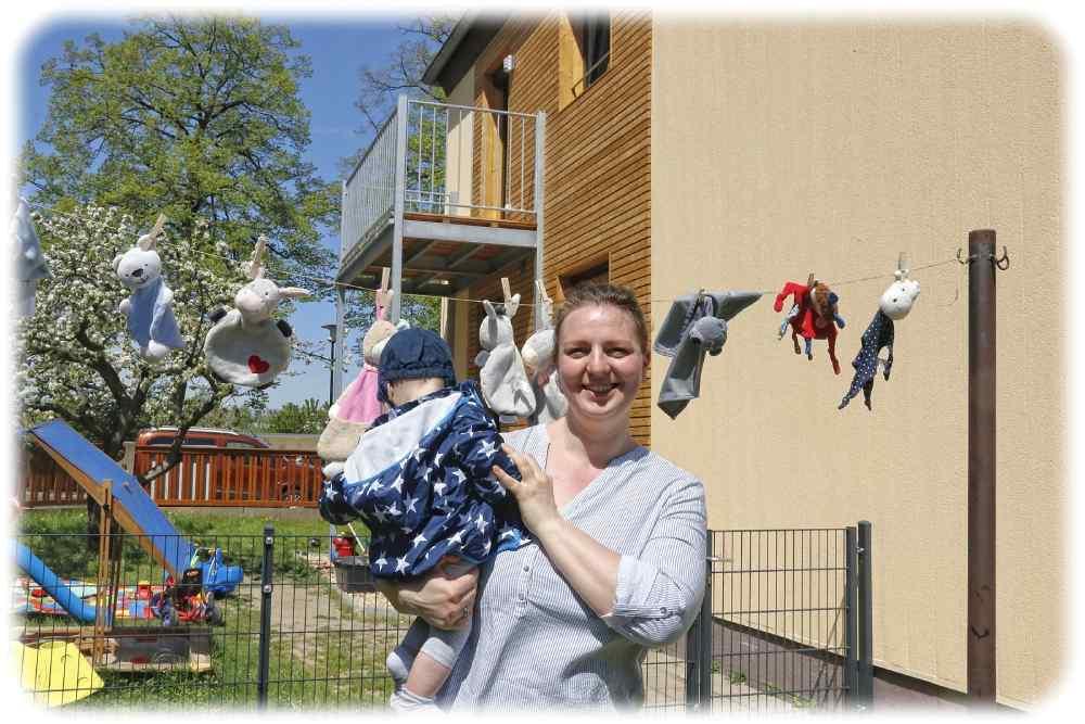 """Marianne Biele leitet das Kleinkinderheim """"Wolkenstein"""" in Striesen. Foto: Sabine Mutschke"""