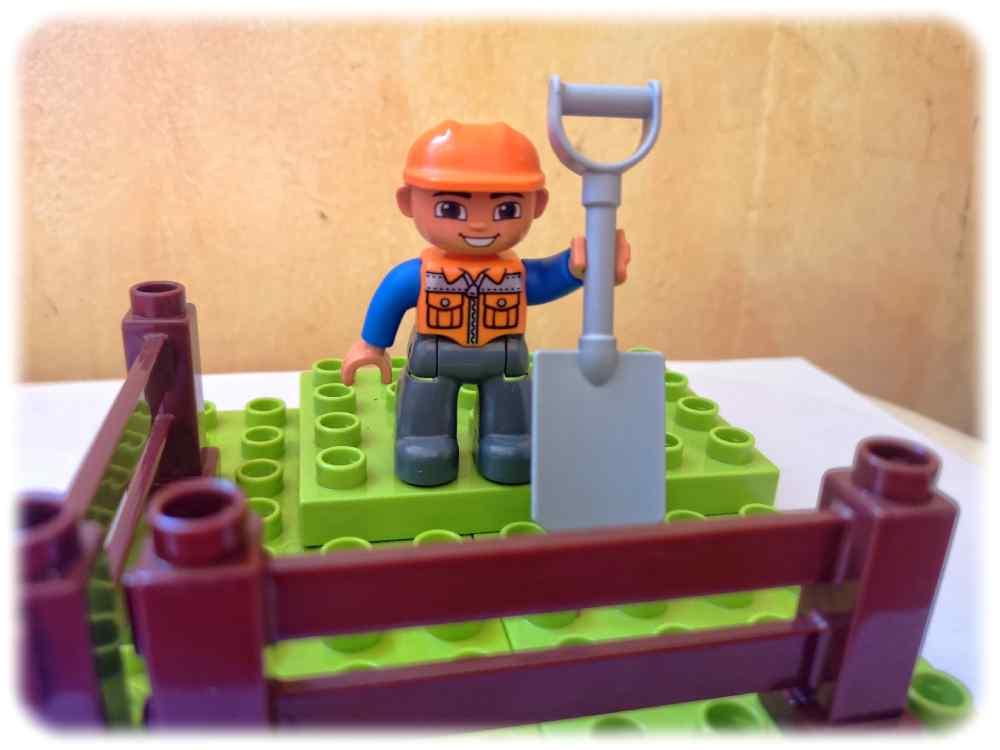 Bauarbeiter am Werk. Themenfoto: Heiko Weckbrodt