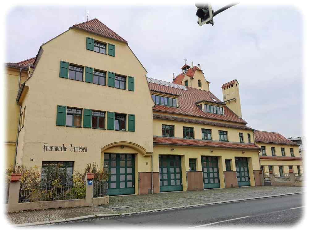 Die alte Feuerwache Striesen. Foto: Heiko Weckbrodt